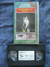 Junior Survival. CURIOSITY AND THE CAT VHS VIDEO. Narrated by Duncan Carse