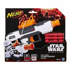 Star Wars Stormtrooper Blaster NERF Kids Gun Children Fun Gift + 3 Foam Darts