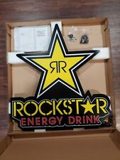 Brand New Rockstar Energy LED Hanging Wall Light 30x28