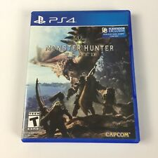 Monster Hunter World 2018 Sony PlayStation 4 TESTED