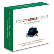 SIMPLY CHRISTMAS CROONERS 4 CD NEW!