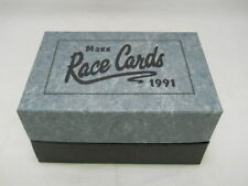 1991 MAXX Race Cards Complete 240 NASCAR Card Set with Storage Box