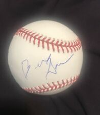 BERNIE SANDERS SIGNED MAJOR LEAGUE BASEBALL NEXT PRESIDENT W/COA+PROOF RARE WOW