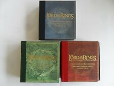 3x The Lord of the RINGS/LE SEIGNEUR DES ANNEAUX... THE COMPLETE RECORDINGS-Boxset