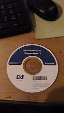 DOCUMENTATION CD - HP BUSINESS DESKTOP - dx5150 MODELS