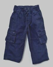 "Gymboree ""Football League"" Navy Blue Cargo Carpenter Pull-On Pants, 18-24 mos."