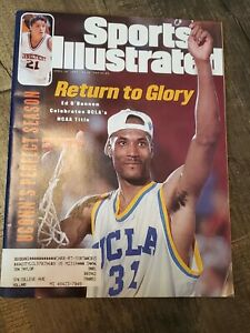 April 10, 1995 Ed O' Bannon UCLA Bruins - NCAA Championship Sports Illustrated
