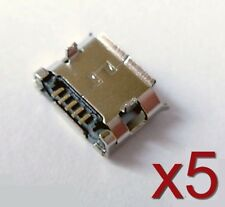 5x connecteur à souder micro USB type B femelle / 5x Female connector to solder