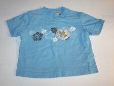Infant Boys Babyworks Sunset Beach Turtle Surf Blue Shirt  Size 3-6 mnt