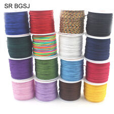 45M Per Roll Chinese Tassel Beading Cord Knitting Rattail Knotting Cord 0.8mm