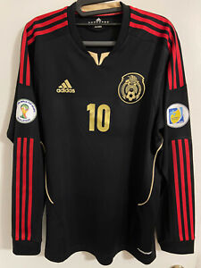 Adidas Mexico Away 2012-2013 Jersey Player Issue Match Un Worn Formotion L