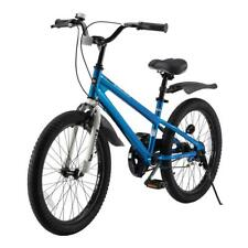 Durable Blue Steel BMX Freestyle Boy's and Girl's Bike with 20 in. Wheels