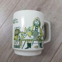 Vintage Figgjo Norway 'Market' Turi Design Coffee Cup