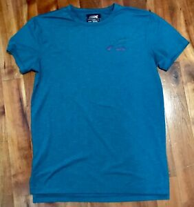 American Eagle Outfitters Flex T-shirt Men's Small Teal Athletic