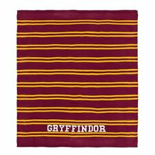 Harry Potter Gryffindor Pottery Barn Teen PB Blanket 50x60 Knit Throw House