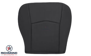 2005 2006 Cadillac SRX-Driver Side Bottom Replacement Leather Seat Cover Black