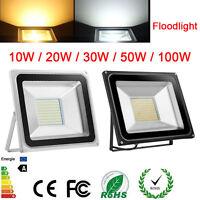 Waterproof LED Flood Light Security Indoor Outdoor Garden 10W 20W 30W 50W 100W