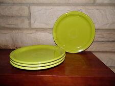 Fiesta  lemongrass buffet or pallet  plates set of 4  9 inch   NEW Fiestaware
