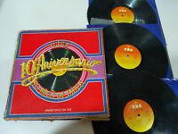"CBS 10 Aniversario Bose Bob DylanvPecos Santana - 3 x LP Vinilo 12"" G+/G+"