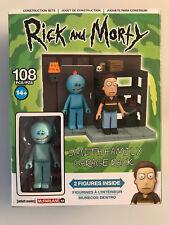 McFarlane RICK & MORTY SMITH FAMILY GARAGE RACK Construction Set w/ Mini Figures