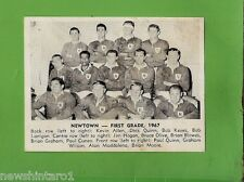#D232. 1967 MIRROR RUGBY LEAGUE PHOTO CARD - NEWTOWN JETS TEAM CARD
