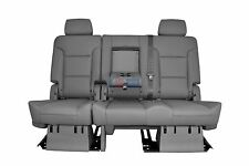 2015 2016 Suburban 2nd Row Bench Gray Leather