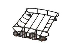 Zubehör für Crawler 1:10 Dachgepäckträger mit 4 LEDs D90 schwarz