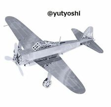Tenyo Metallic Nano Puzzle Fighter aircraft Zero fighter plane New