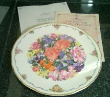 Vintage Royal Albert Queen Mothers Favourite Flowers Finale Bone China Plate