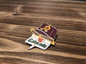 Norv Turner Washington Redskins Gatorade Collector's Pin Series N1