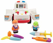 All Around Ambulance Bump'n'Go Learn'n'Play Kids Doctor Play Medicine Emt