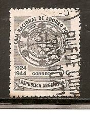 Argentina Stamps-Scott # 521/A190-5c-Canc/H-1944-NG
