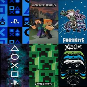 Official Gaming Licensed Beach Towels Fortnite Minecraft Xbox Playstation
