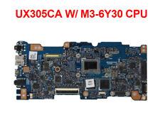 For ASUS U305C UX305C UX305CA Motherboard With M3-6Y30 8GB RAM Mainboard