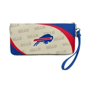 Buffalo Bills Curve Style Wallet Organizer [NEW] NFL Bag Purse Money Check