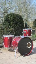 Vintage Pearl DLX Professional Drumset Schlagzeug Shellset 22