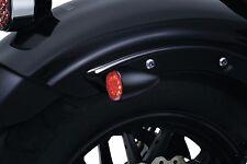 Kuryakyn Black Rear Red Torpedo LED Turn Signal Indicator Lights Harley Yamaha