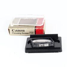 ^Canon Focusing Screen PE for F1N Camera
