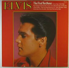 """12"""" LP Elvis presley-the first ten years-l5697h-washed & cleaned"""