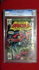Tomb of Dracula #59 CGC 8.5 OW to White Pages The Last Traitor Marvel Bronze Age