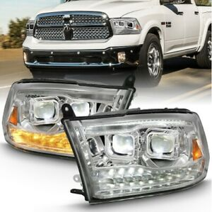 Anzo 111465 LED Projector Headlight For 11-18 Ram 3500
