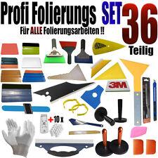 36 Teilige Profi Folierung Set - Scheiben Tönung - Vollfolierung - Rakel Set