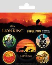 Der König der Löwen Ansteck-Buttons 5er-Pack Life of a King