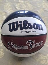 Vintage Wilson Basketball Red & Blue Show Time B1145 Rare