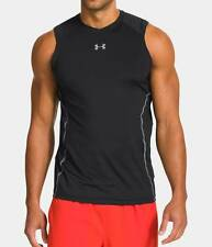 MEN'S UNDER ARMOUR HEATGEAR SLEEVELESS COMPRESSION T- SHIRT-LG