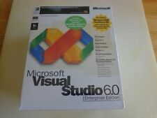 Microsoft Visual Studio 6.0 6 Enterprise Edition (628-00403) + MSDN Library