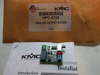 KMC CONTROLS HPO-6702 Analog Output Board