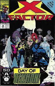 X-Factor Comic 70 Copper Age First Print 1991 David Jarvinen Rubinstein Marvel