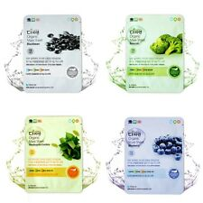 Nature's Friend Organic Mask Sheet with Organic Extracts 4PCS  Made in Korea