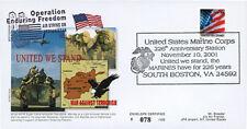 "UWS-05 FDC USA ""Afghanistan Opération Enduring Freedom - Marine Corps"" 2001"